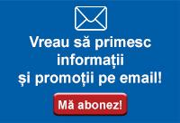Vreau sa primesc informatii si promotii pe email.